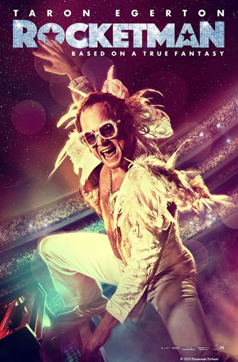"""Rocketman"" Movie Poster"